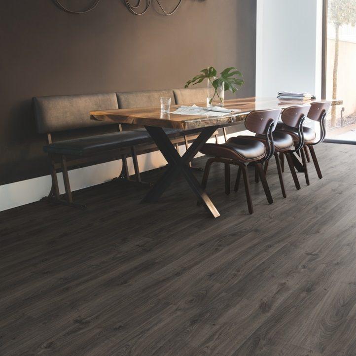 conels dark oak flooring image